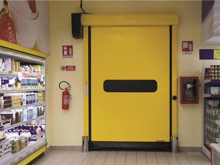 Porte flessibili automatiche